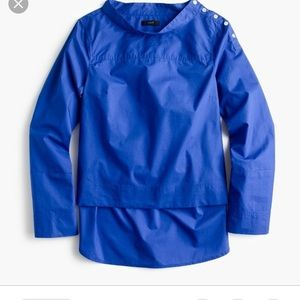 J. Crew Funnelneck Shirt